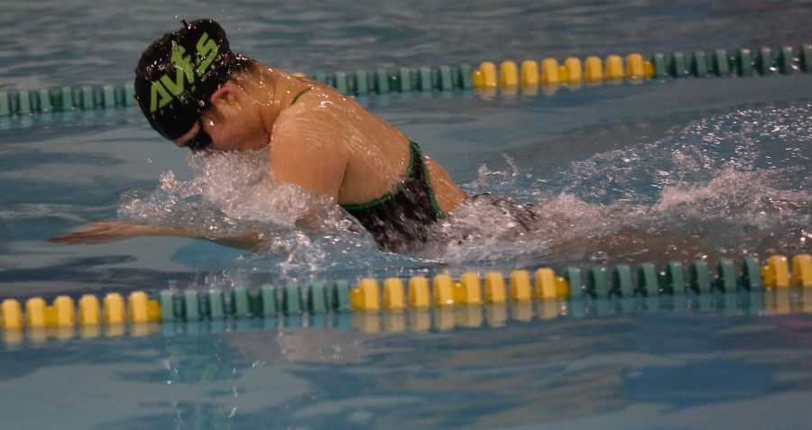 Swimming into state: