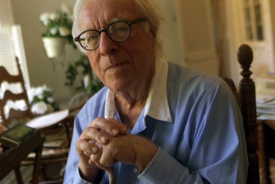 This+is+a+photograph+of+Bradbury%2C+the+author+of+%E2%80%9CFahrenheit+451.%E2%80%9D+He+died+in+2012%2C+and+was+a+recluse+for+most+of+his+life.+Bradbury+was+married+with+four+daughters.