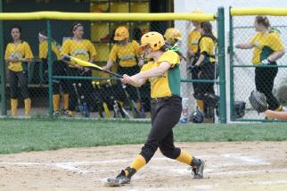Elizabeth Izworski  is a power hitter for the varsity softball team. Last season the team reliedon her to get on base in clutch situations. In the upcoming  season she is expected to be a leading on the field.