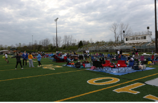 Last year at Relay For Life, students set up tarps and made camps for themselves and their team as a place to relax when they weren't walking. Students would alternate in who walked around the track on their team and if they were not walking the often participated in activities around the track. The Dragonfly Foundation was there and students got to donate their hair for cancer victims.