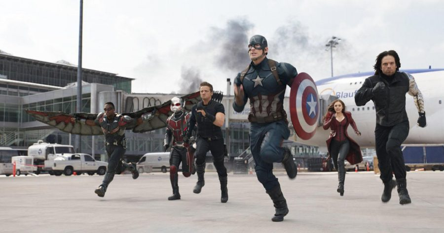 """Captain America's team runs to face off against Iron Man's team in """"Captain America: Civil War."""" The film's action centerpiece manages to show off the abilities of each individual hero without confusing and overwhelming the audience. The battle spans everything from hand-to-hand combat to magic energy manipulation."""