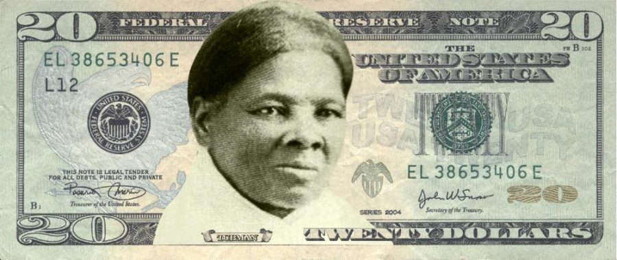 Concept art for the newly designed $20 bill. Tubman will replace former president Jackson. The new bill will be in circulation by 2020.