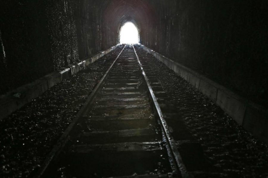 A picture of a extremly similar tunnel. It was used to deliver illegaly possesed drugs. It has been reported as a criminal site and currently  closed.
