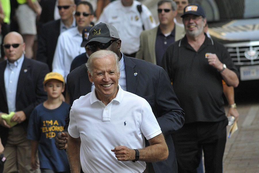 Biden praises union workers in Labor Day speech