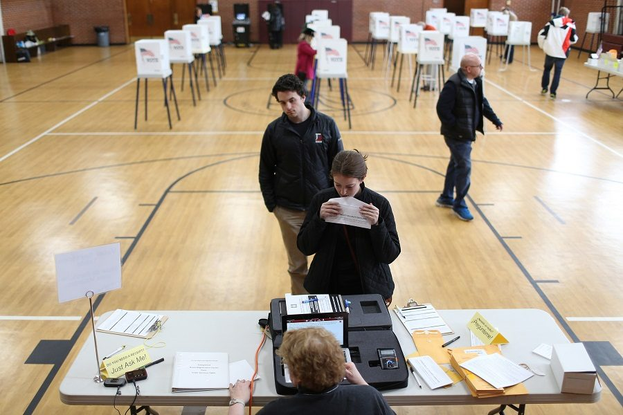 Illinois primary voting