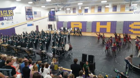 Marching Band's second show changed to exhibition