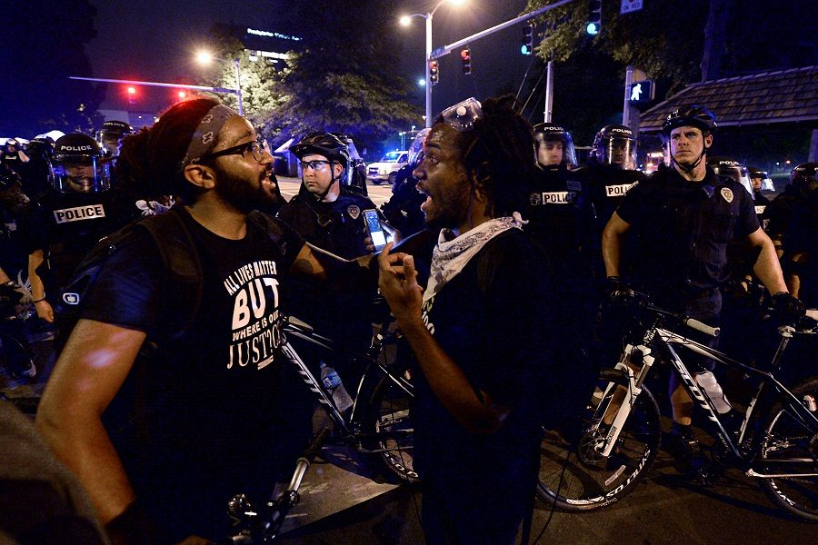 Charlotte protestors took to the streets for multiple days after the shooting of Keith Scott. On the second night, another man was shot in the protests, Justin Carr.  Police and national guard are now working to stop the rioting and to persecute the individuals responsible for the destruction of multiple stores in the area.