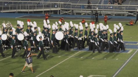 Band brings spirit to competition