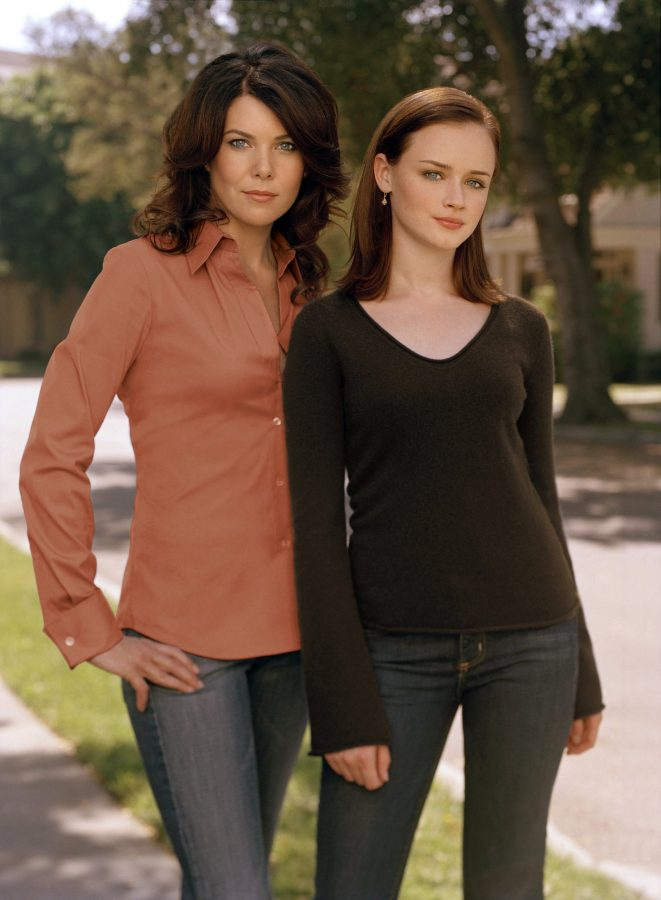 Lauren Graham and Alexis Bledel star in Gilmore Girls. They  play famous mother and daughter duo Lorelai and Rory. From October, 5 2000 to May 15, 2007 the show was a huge hit.