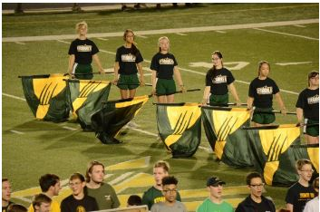 Guard glamorizes show for championships
