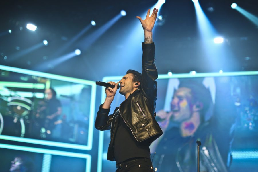 Maroon 5 had to reschedule their show at the U.S Bank Arena on Sept 29th to Mar. 3rd due to the birth of Adam Levine's baby. The show was one of seven shows that were rescheduled for the new year. Comedian Ellen DeGeneres helped name Levine's daughter, Dusty Rose Levine, over a text message.