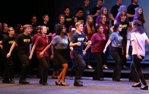 Talent aglow at Variety Show
