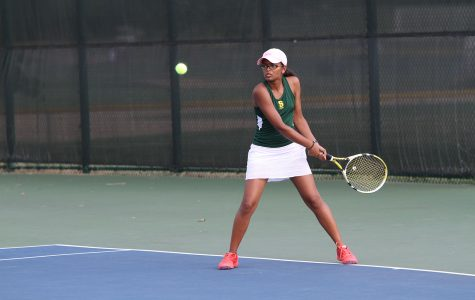 JV Girls' Tennis aces season