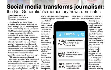 Social media transforms journalism