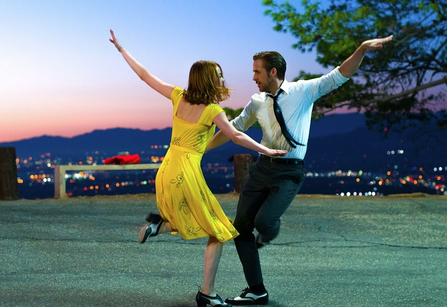 Gosling and Stone star in the nostalgic film La La Land. It has been praised by critics and students and features singing and dancing numbers as well as brilliant acting and cinematography. La La Land is still showing in theaters.