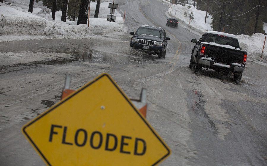 California, Nevada suffer extreme flooding, mudslides