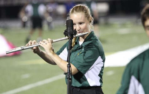Band marches in tune