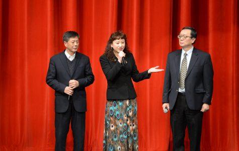 Chinese school 'sings' in new year