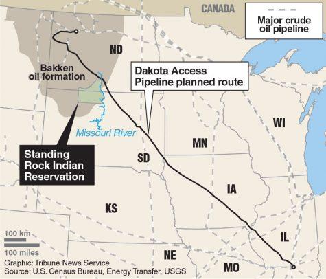 Pipeline protesters prepare departure
