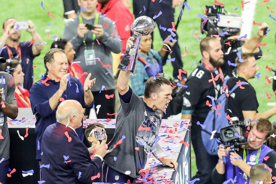 New England Patriots quarterback Tom Brady is hoisting his fifth Lombardi trophy of his career on Sun., Feb. 5. He led the Patriots into an incredible second half comeback after being down 3-28 and winning 34-28 in overtime. The Patriots' victory will go down in history but also ended the rocky NFL season on high note.