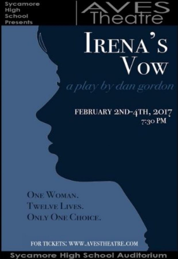 Aves Theatre presents Irena's Vow on Feb. 2-4. Tickets are available for early purchase and can be picked up on the night of the performance at Will Call. To purchase tickets in advance, visit avestheatre.org.