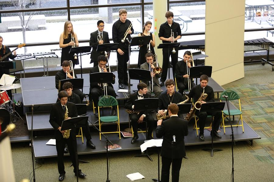 EXCELLENT. Different musical groups from the high school attended the Ohio Music Association's (OMEA) District 14 Contest. All groups received either superior or excellent ratings. The competition challenges the students abilities to both play practiced and sight read musical pieces.