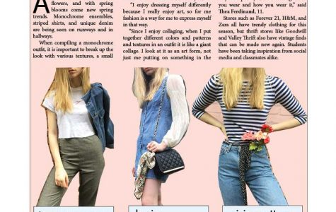 Spring fashion trends spring onto scene