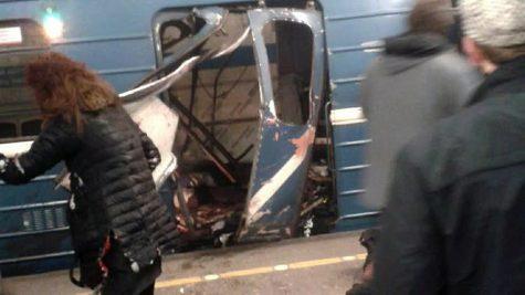 St. Petersburg suffers bombing at metro