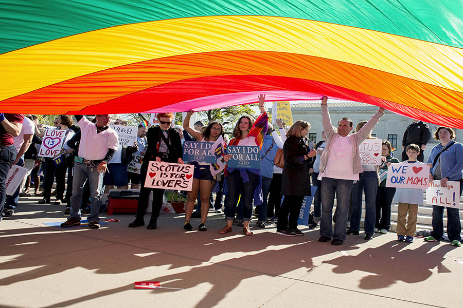 VICTORY. The ruling of the Chicago federal appeals court marks a big win for gay rights advocates everywhere. The Seventh Circuit concluded that the Civil Rights Act also protects against sexual orientation discrimination. The basis of case comes from an Indiana teacher and her job situation at Ivy Tech.