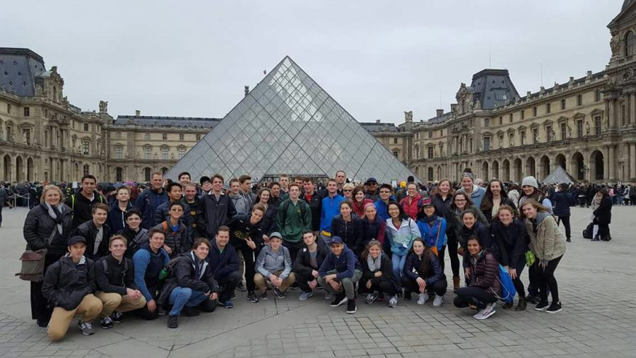TRAVEL. Europe has received travel alerts twice in 2016 due to large events and the holiday season attracting lots of visitors from all over the world. Students from Spanish classes and AP European History traveled to Europe recently over spring break. SHS Staff took the proper precautions to ensure safety of students at all times.