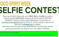 Hoco Spirit Week Selfie Contest!