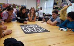 Local artist visits classes