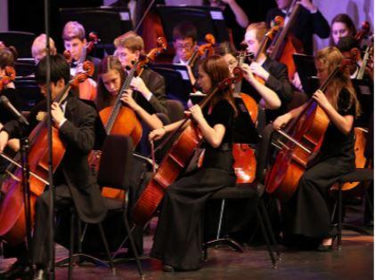 Spotlight shines on senior string soloists