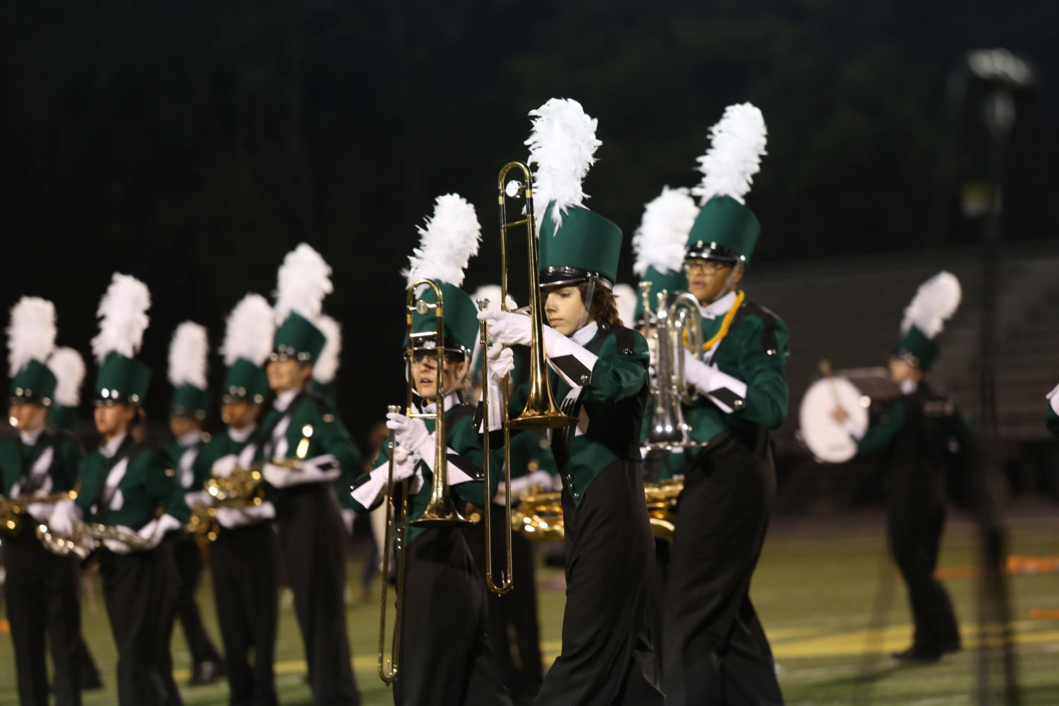 The marching band season is over, with the group performing at Lucas Oil Stadium. The group performed their show Libra in BOA Grand Nationals. Students had to learn how to balance their time with practice and school work.