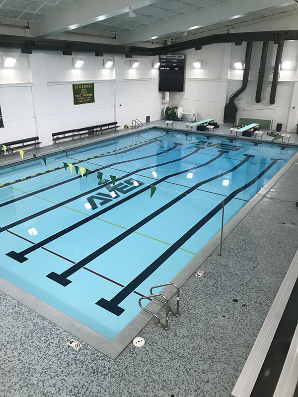 STILL+WATERS.+The+pool+is+found+empty+right+after+school.+Ten+minutes+later%2C+all+the+swimmers+arrive+ready+for+the+first+day+of+practice.