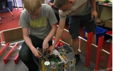 Robotics Club enjoys 're-engineered' classroom