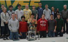 Pelberg leads Robotics Team