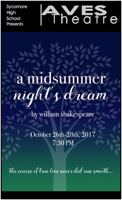 "DREAM. ""A Midsummer Night's Dream"" posters are placed throughout the school. They also may be spotted at local businesses. ""Come see the show!"" Cohen said."