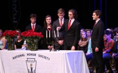 Local honorable leaders induct juniors into prestige