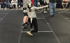 Students figure out fencing