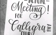 Can you even calligraphy?