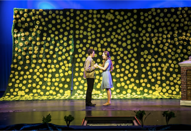 "DAFFODILS. Last year's spring production was ""Big Fish."" The cast was comparable in size to that of"