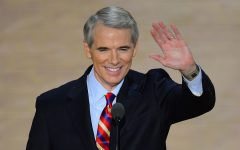 Portman makes first appearance with President
