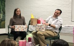 Swimmers buy baby gifts