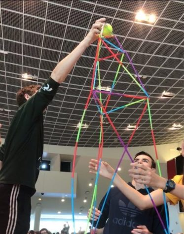 TEAMS of young engineers achieve victory