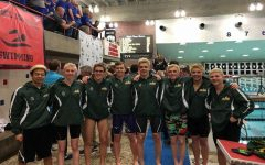 SHS swims against state