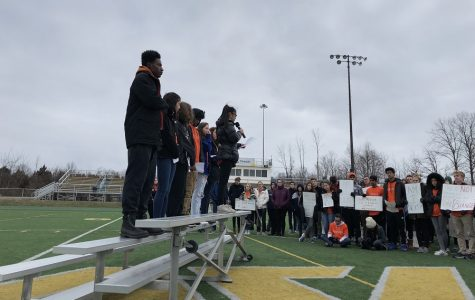 Student activists walk out for beliefs