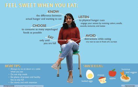 Feel sweet when you eat
