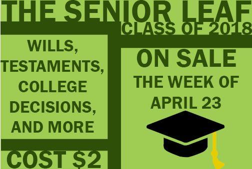 Senior Leaf goes on sale April 23