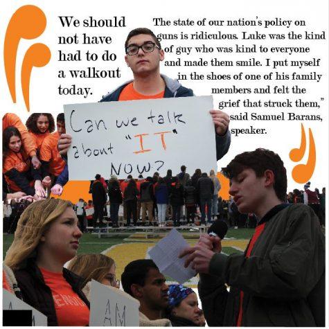 Walkout warriors say #enough